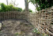 continuous woven fencing